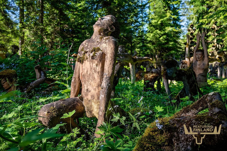 parikkala statue park finland