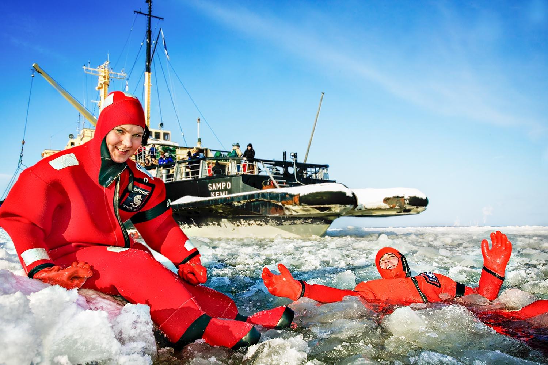 icebraker sampo kemi finland