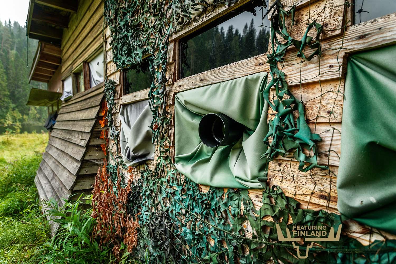 wildlife watching hide