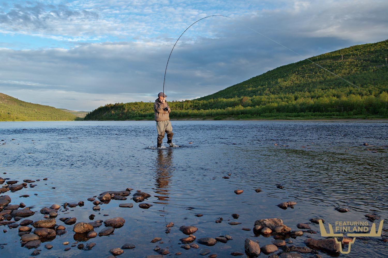 salmon fishing finland