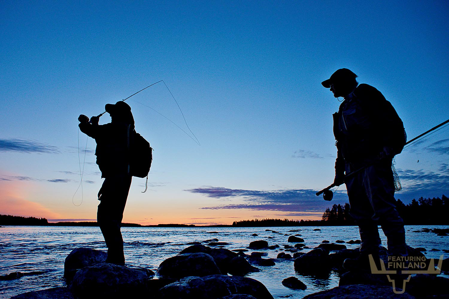 trout fishing finland
