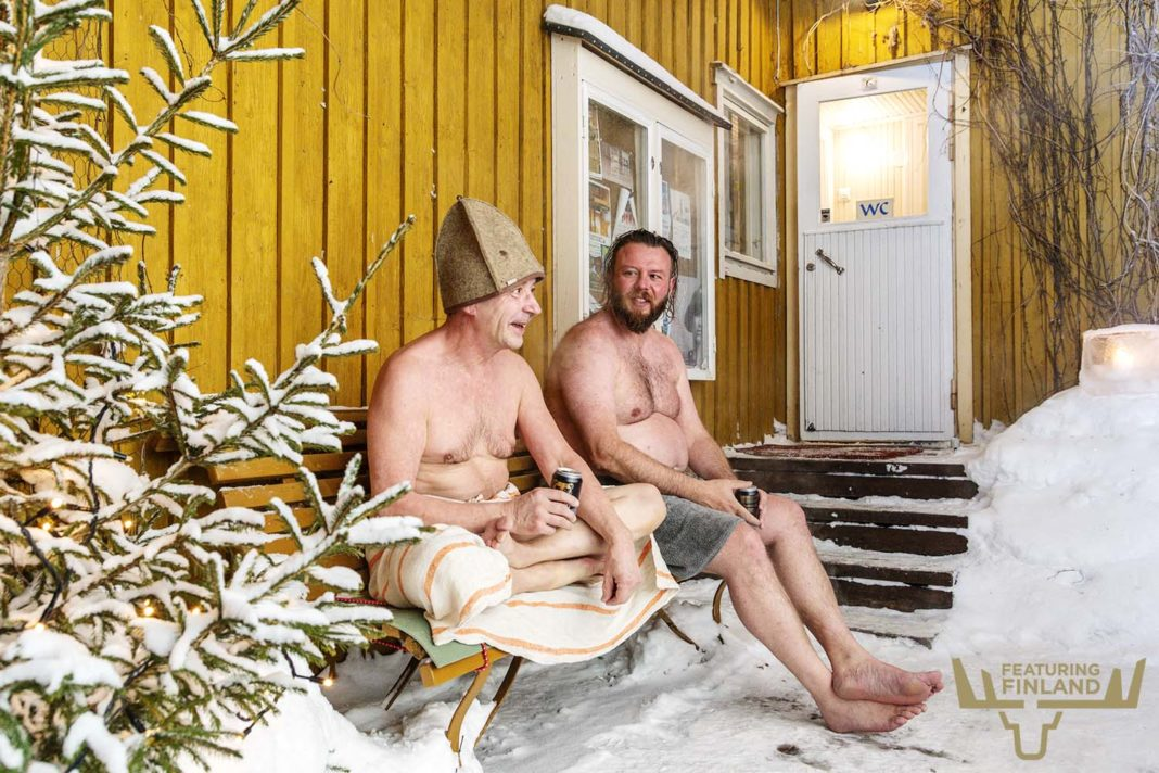sauna cooling finland