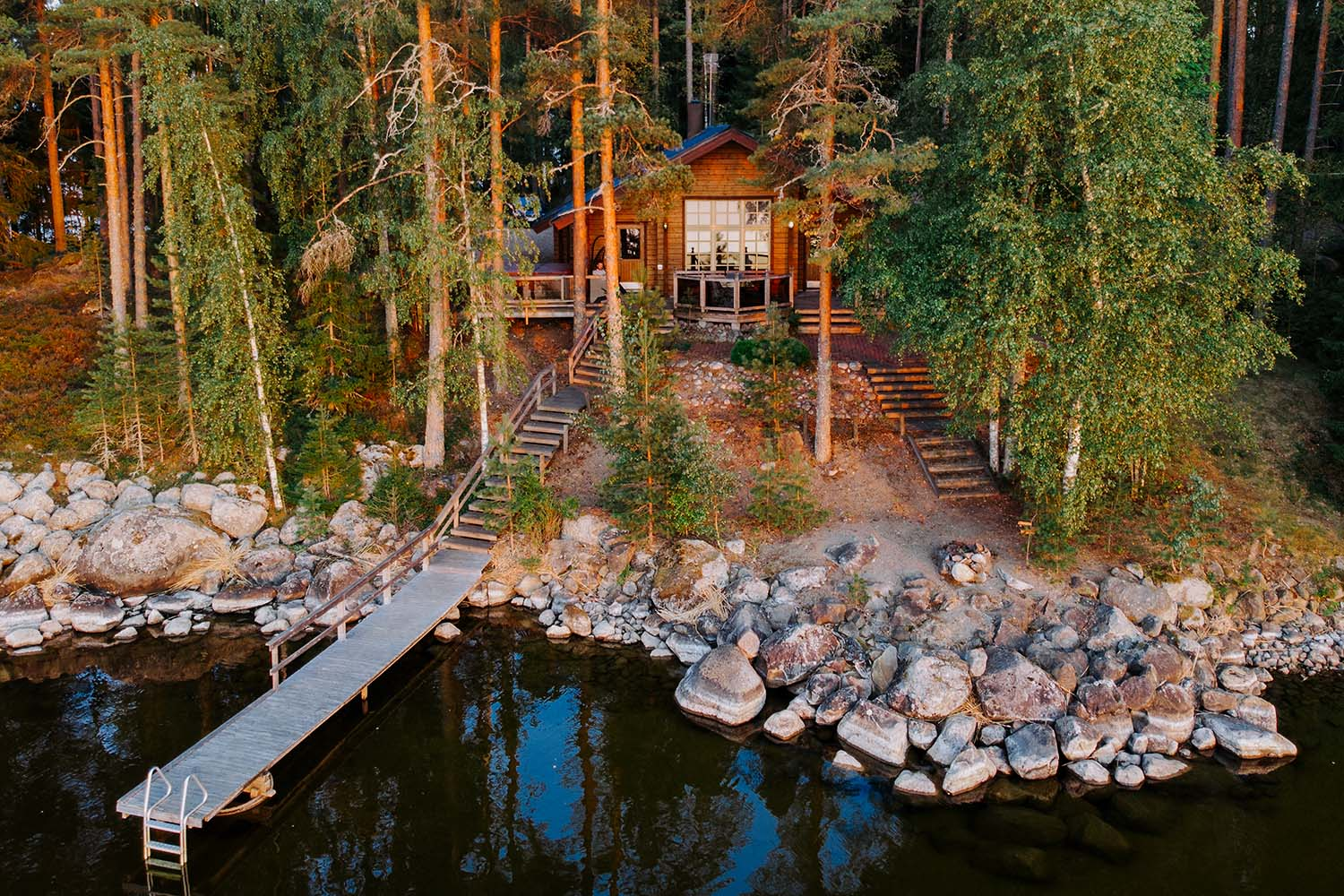 lakeside cottage finland