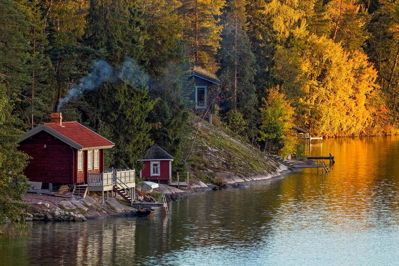 cottage sauna finland